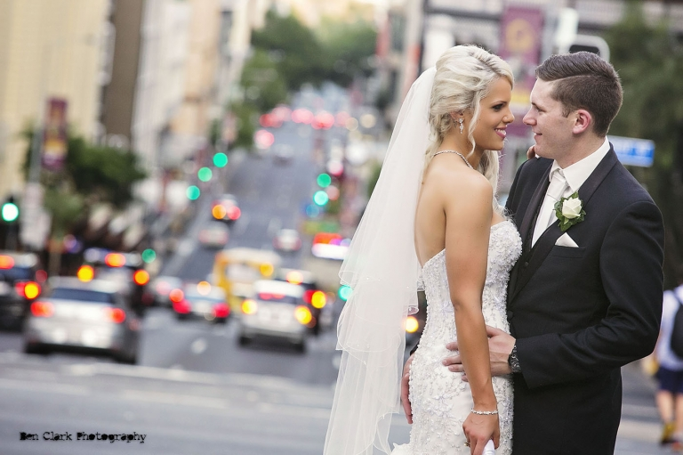 Brisbane Street Wedding